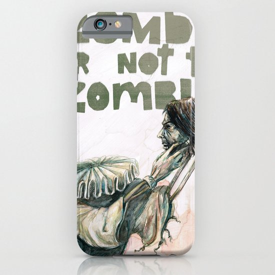 Zombie + Shakespeare iPhone & iPod Case