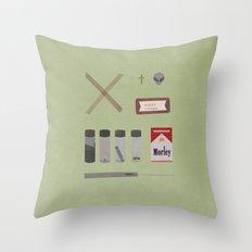 X Files v2 Throw Pillow