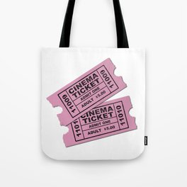 Cinema Tickets Tote Bag