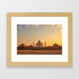 Taj Mahal - India Framed Art Print