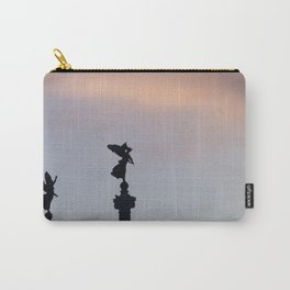 Vittoriano angels at sunset 2 Carry-All Pouch