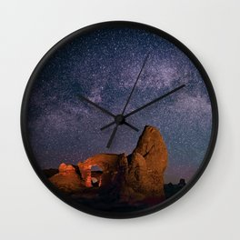 Arches National Park Panorama Wall Clock