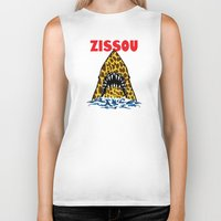 zissou Biker Tanks featuring Zissou by Buby87