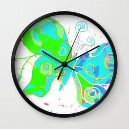 Mod Butterfly Wall Clock