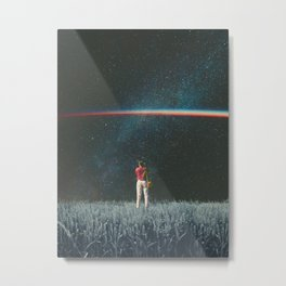 Saw The Light Metal Print