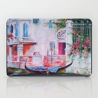 venice iPad Cases featuring Venice by OLHADARCHUK