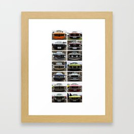 Bavarian Auto Club - West Seattle 2014 Framed Art Print