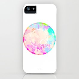 Finding Balance-Highlighter Bright iPhone Case