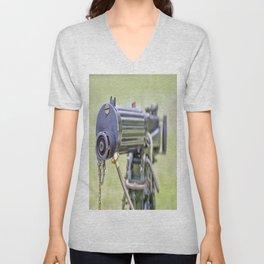 Vickers Machine Gun Unisex V-Neck
