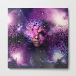Ode to Ultra Violet Metal Print