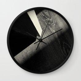 Shadow Light Door Abstract One Wall Clock