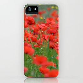 Poppy field 1820 iPhone Case