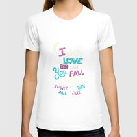 tfios T-shirts featuring Fell in love by Risa Rodil