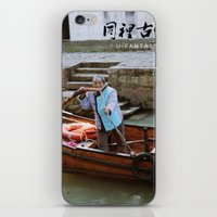 china iPhone & iPod Skins featuring China  by Vickyyyy