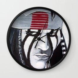 KE-MO SAH-BEE (FAITHFUL FRIEND) Wall Clock