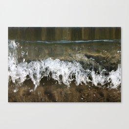Little Waves Canvas Print