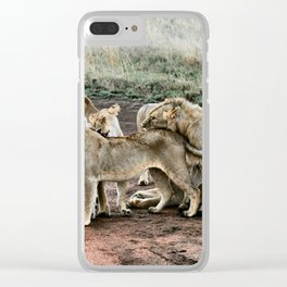 Pack Pride Clear iPhone Case