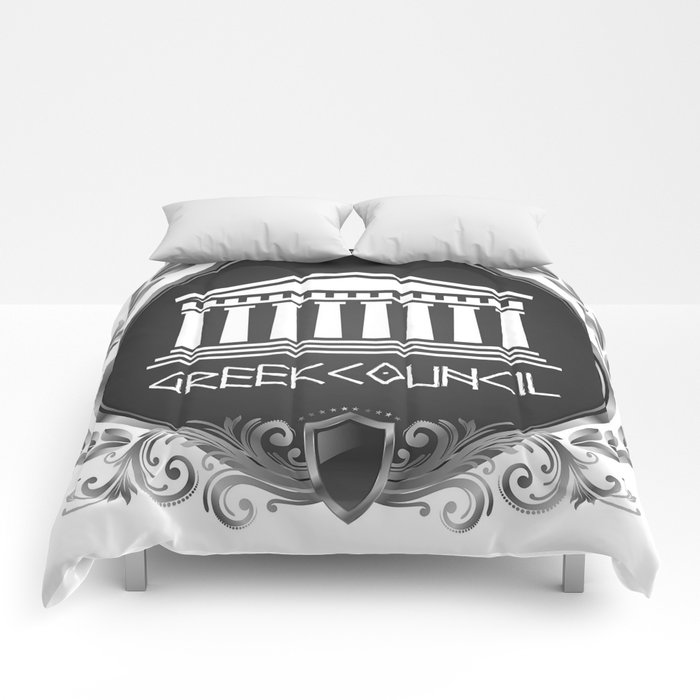 GREEK LUXORY COUNCIL Comforters
