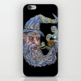 Wizard: Smokin' Bowls And Takin' Souls iPhone Skin