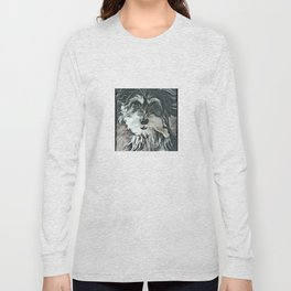 Puppy Rescue Sophie with Bone Long Sleeve T-shirt