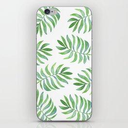 Tropical Palm Leaf iPhone Skin