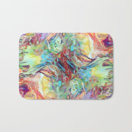Abstract Marble 07 Bath Mat