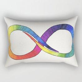 Neurodiversity symbol 1 Rectangular Pillow