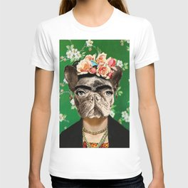 Frida Katy FrenchBulldog T-shirt