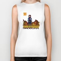 8bit Biker Tanks featuring 8bit sequal? by pixel.pwn | AK