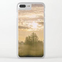 Sunrise in Woodburn Clear iPhone Case