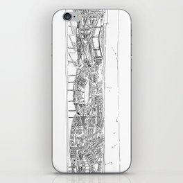 The tower of Falsity iPhone Skin