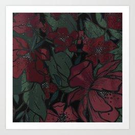 Rich Floral Art Print