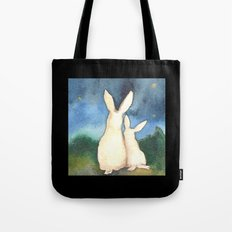 Star Gazing Tote Bag