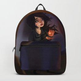 A Contained Flame Backpack