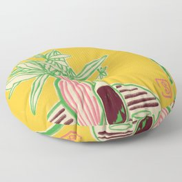 CONVERSATION BY THE SEA Floor Pillow