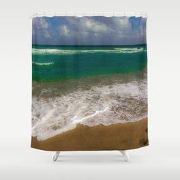 Juno Beach View Shower Curtain