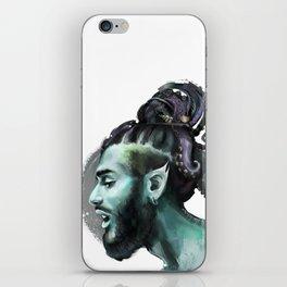 AfroAquaMan iPhone Skin