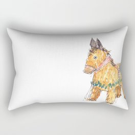 El Burro Piñata Rectangular Pillow