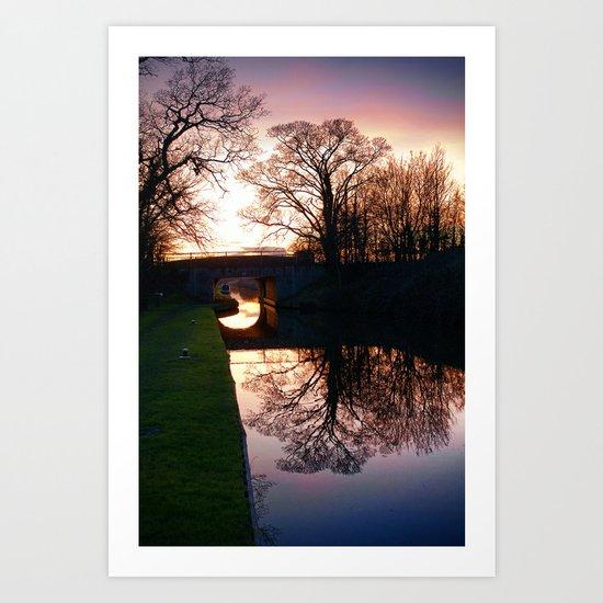 Sundown Art Print