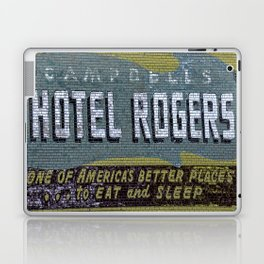 Idaho Falls - Vintage Hotel Rogers Better Place To Eat And Sleep Laptop & iPad Skin