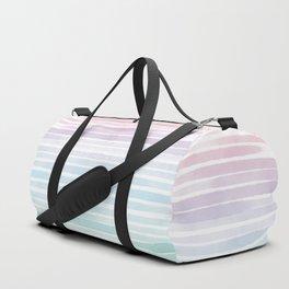 Watercolor lines Duffle Bag