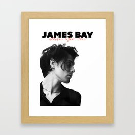 james bay electric tour 2019 halim Framed Art Print
