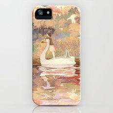 Swan boat iPhone (5, 5s) Slim Case