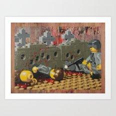 Russian Partisan Execution Art Print