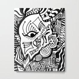 Foresight Metal Print