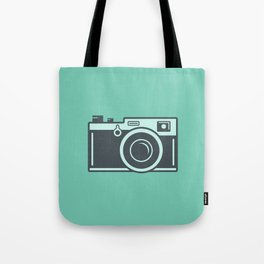 Camera Illustration Tote Bag