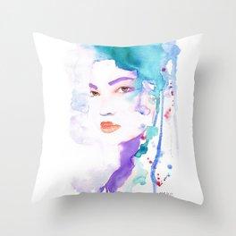Elina five Throw Pillow