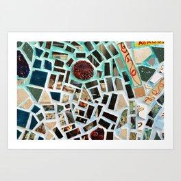 Glass Art in Philly Art Print