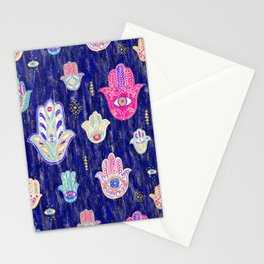 Hamsa Mystical Protection Stationery Cards