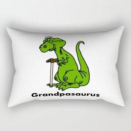Grandpasaurus Rectangular Pillow